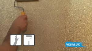 Vesalux Go Glitter Shimmering Glitter Paint For Walls Youtube