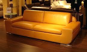 canape jaune cuir canape jaune cuir canap places cosby vintage effet cuir