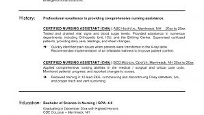 Sample Of Nursing Assistant Resume by Cna Cover Letter And Resume Templates Professional Cna Resume