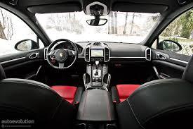 porsche suv inside porsche cayenne diesel review autoevolution