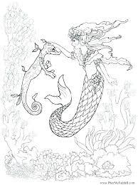 printable coloring pages of mermaids printable mermaid coloring pages for kids baby mermaid coloring