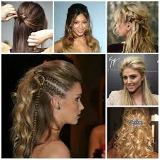 2016 semi updo hairstyle ideas 2017 haircuts hairstyles and