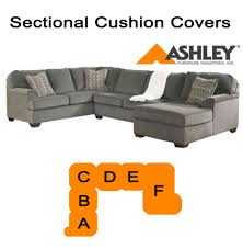 Sectional Cushions Ashley Loric Smoke Sectional Replacement Cushion And Cover 12700