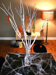Branches In A Vase Quick And Easy Halloween Branch Centerpiece Hgtv