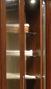 Wardrobe With Shelves by Closet Wardrobe Styled As Stand Alone Closet With Glass Closet Doors
