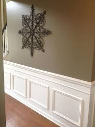 diy faux wainscoting added to my builder u0027s grade home add chair