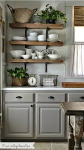 decorating ideas for kitchen shelves best 25 kitchen shelf decor ideas on kitchen shelves