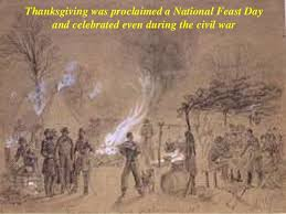 thanksgiving history and customs
