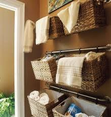 bathroom br baskets towels bathroom towel racks ideas how to