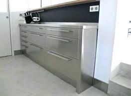 table meuble cuisine meuble avec table integree meuble cuisine table cuisine inox sur