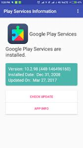 gogle play service apk play services information android apps on play