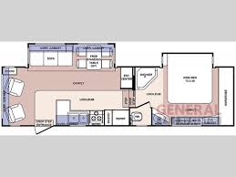 Denali 5th Wheel Floor Plans Used 2006 Forest River Rv Cardinal Le 30 Wble Fifth Wheel At