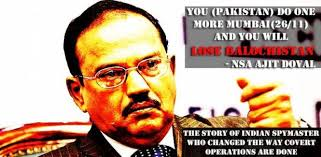 nsa ajit doval warns pakistan says covert actions not cost