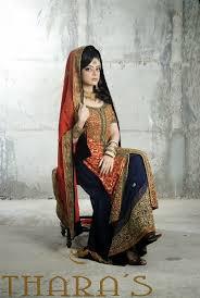beautiful bridal wear dresses 2014 by thara u0027s for girls