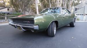 1968 dodge charger r t original ca car black plates original paint