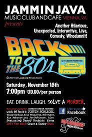 106 7 the fan live back to the 80s an 80s themed mystery comedy show tickets