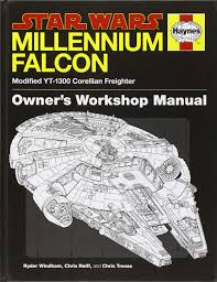 star wars millennium falcon owner u0027s workshop manual ryder