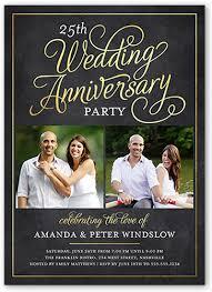 wedding anniversary invitations 50th wedding anniversary invitations shutterfly