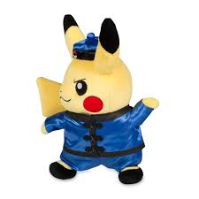 kung fu pikachu around the world poké plush
