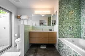 glass tile backsplash ideas bathroom ta green glass tile backsplash ideas bathroom midcentury with