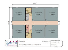 building floor plans ramtech relocatable and permanent modular building floor plans