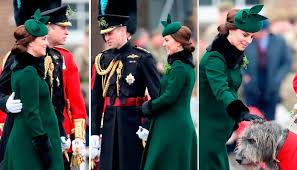 where do you put a st kate middleton is decked out in green for st patrick s day as she