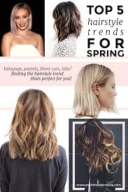 on trend the lob the top five hairstyle trends for spring petitemodern