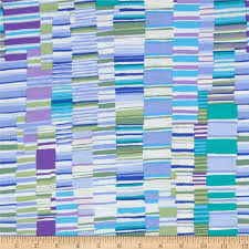 Blue Flag With Yellow Stripe Striped Quilting Fabric Discount Designer Fabric Fabric Com