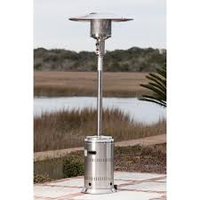 patio heater wheels fire sense commercial series 46 000 btu propane gas patio heater
