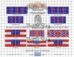 Bonnie Flag Dixon Miniatures Acw Flags Battle Flag