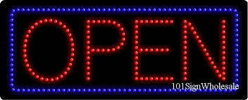 led signs and light box wholesale