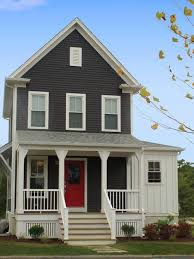 grey house with white trim free pictures of gray house with white