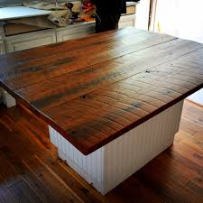 reclaimed barn wood kitchen island with wooden top kitchen large butcher block countertop wood plank kitchen island
