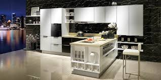 white gloss glass kitchen cabinets modern toughened glass kitchen cabinet op14 094 oppein