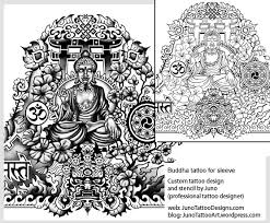 custom tattoos made to order by juno professional tattoo designer