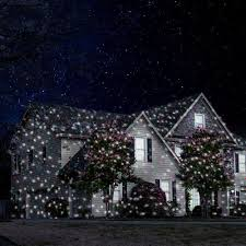 Landscape Laser Light Snowfall Landscape Laser Light Show A Display
