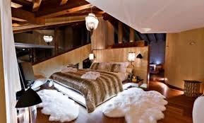 chambre style chalet décoration chambre style chalet moderne 32 la rochelle chambre