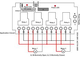 Overhead Door Remote Controls by 4 Channel High Power Switch Controls Garage Door Opener Carymart