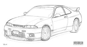 nissan 350z drawing 6 images of nissan car coloring pages nissan skyline gtr