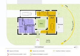 plan de maison de plain pied avec 4 chambres plan de maison 3 chambres plain pied 4 plan maison de plain