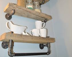 Barn Wood Floating Shelves by Single Reclaimed Barn Wood Floating Shelf