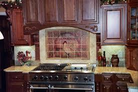 tumbled marble kitchen backsplash by grace pullen tile mural
