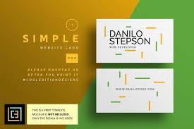 modern website card 1 business cards design free business cards