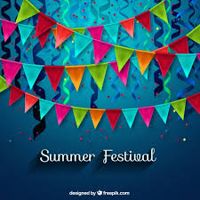 summer decoration summer festival decoration vector free download