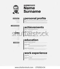 Resume Template Cool Nice Resume Coinfetti Co