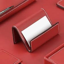 White Leather Desk Blotter Red Leather Desk Collection With Chrome Plated Brass Accents