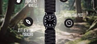 survival bracelet watches images Is a paracord watch worth it jpg
