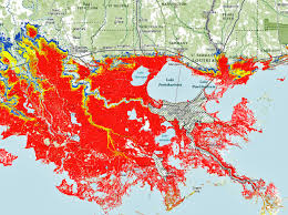 louisiana map areas new map warning system gives detailed flood risk but not for