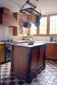 kitchen island hanging pot racks wrought iron hanging pot rack foter