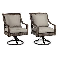 Swivel Patio Dining Chairs Outdoor Oasis Latigo Wicker 2 Pc Swivel Patio Dining Chair Jcpenney